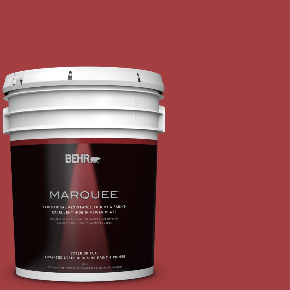 BEHR MARQUEE 5-gal. #P140-7 No More Drama Flat Exterior Paint