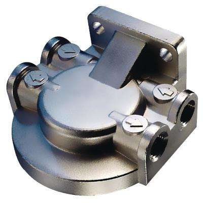 Fuel/Water Separating Filter Bracket, Stainless Steel
