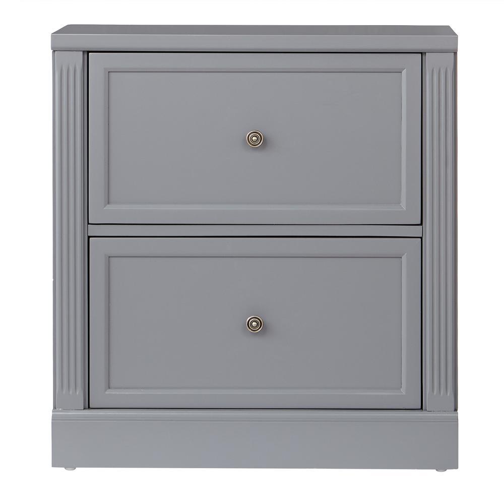 Edinburgh Grey File Cabinet