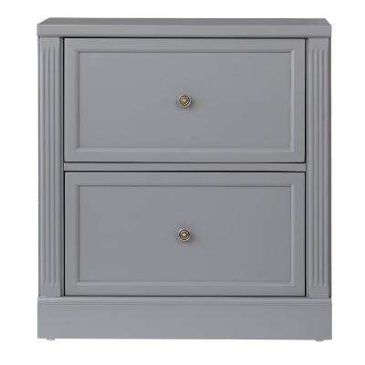 Edinburgh Grey File Cabinet