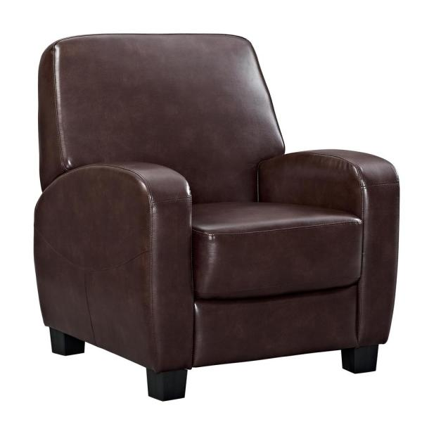 Dorel Marina Brown Home Theater Recliner FH3350R-BR