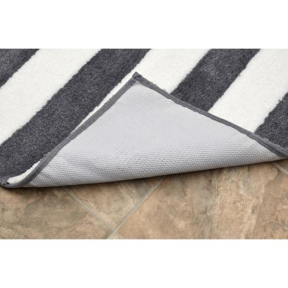 Garland Rug Beach Stripe Cinder Gray