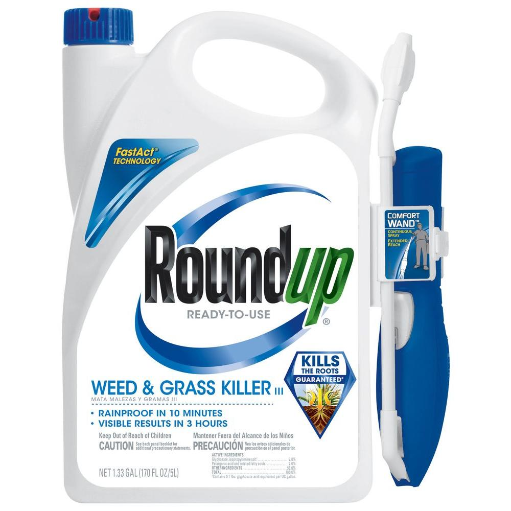 home depot roundup weed and grass killer