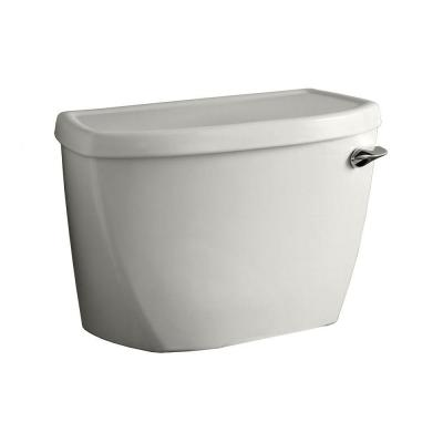 Yorkville 1.6 GPF Single Flush Toilet Tank Only with Right-Hand Trip Lever and Locking Device in White