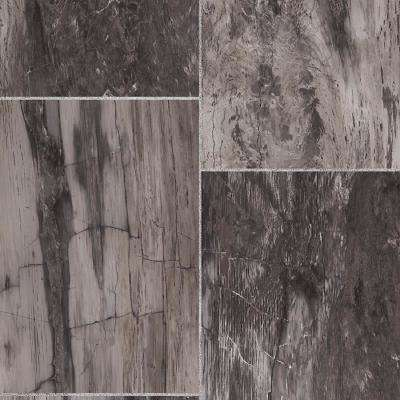 Take Home Sample - Dusk Marble Vinyl Sheet - 6 in. x 9 in.