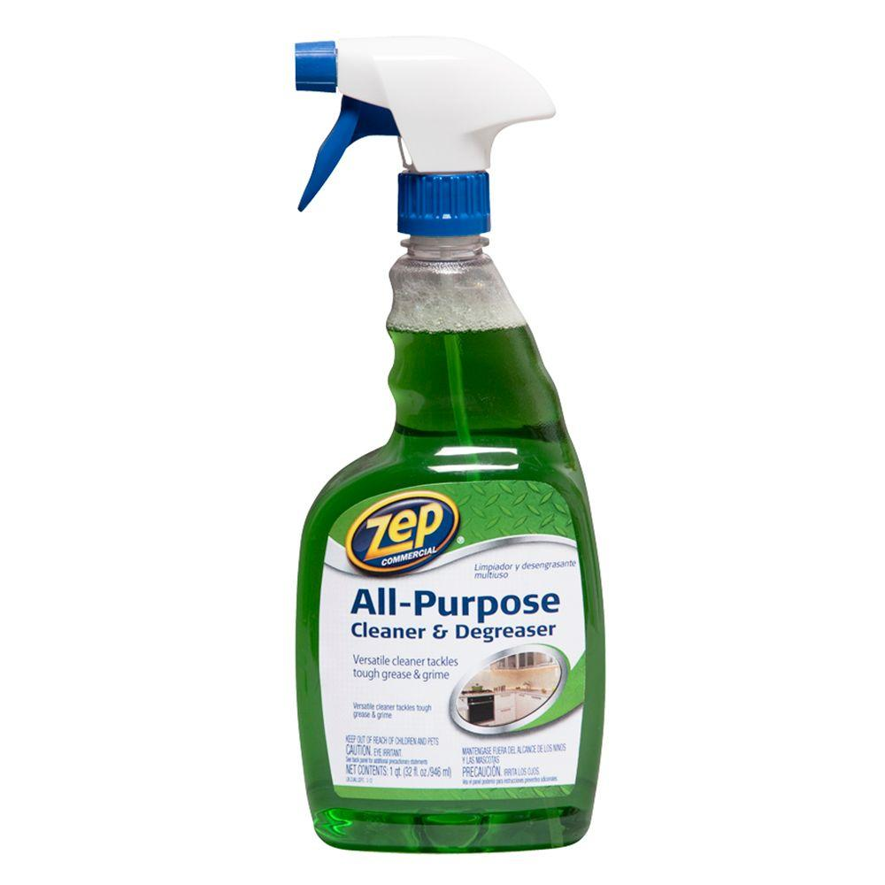 ZEP 32 oz. All-Purpose Cleaner and Degreaser-ZUALL32 - The Home Depot
