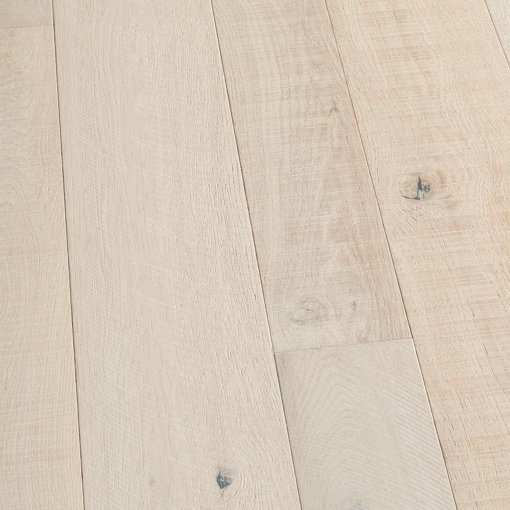 Malibu Wide Plank French Oak Santa Monica 3/8 in. T x 4 in. and 6 in. W x Varying L Engineered Click Hardwood Flooring(19.84 sq. ft./case)
