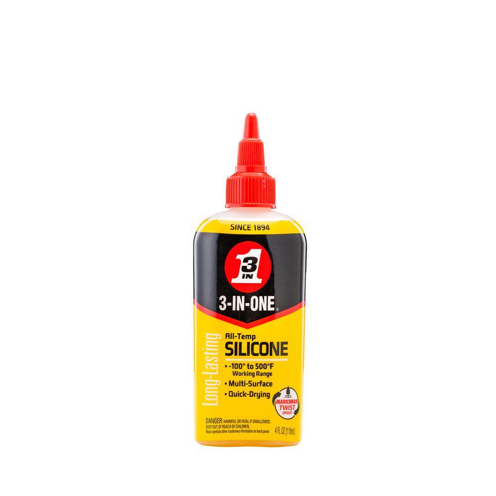 3-IN-ONE 4 oz. All Temp Silicone Drip Oil