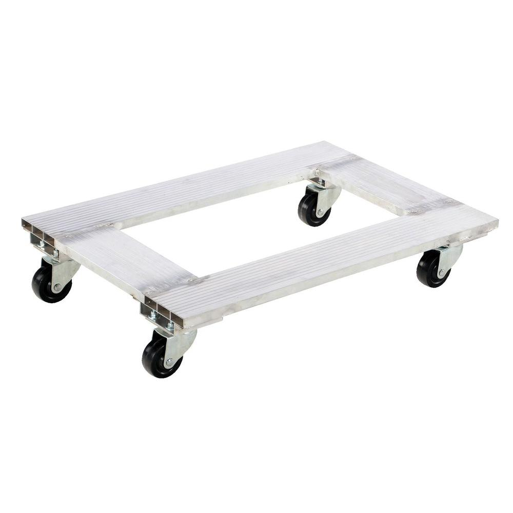 21 in. x 30 in. 900 lb. Aluminum Channel Dolly