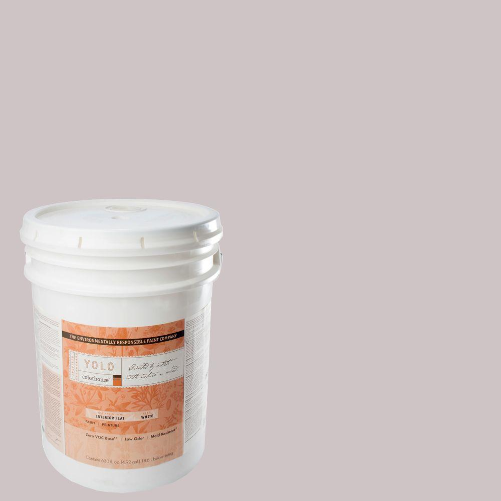 YOLO Colorhouse 5-gal. Air .07 Flat Interior Paint-DISCONTINUED