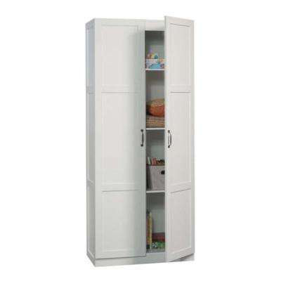 Lovely Sauder White Storage Cabinet