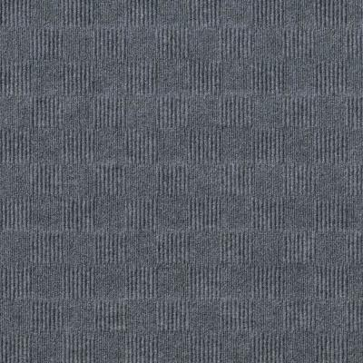 First Impressions City Block Sky Grey 24 in. x 24 in. Commercial Peel and Stick Carpet Tile (15-tile / case)