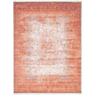 Arcadia Terracotta 9 Ft X 12 Area Rug