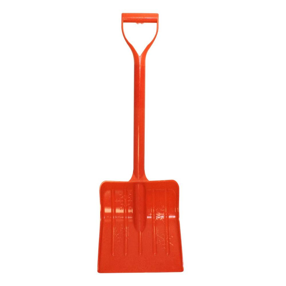 Emsco Bigfoot Series 34 in. Kid Safe Poly Snow Shovel