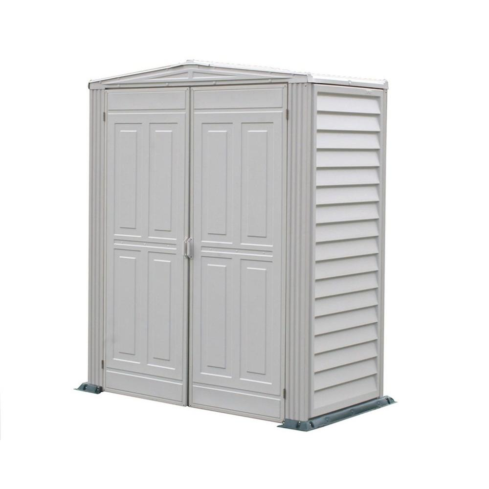 Duramax Building Products Yardmate 5 ft. x 3 ft. Vinyl Shed with Floor