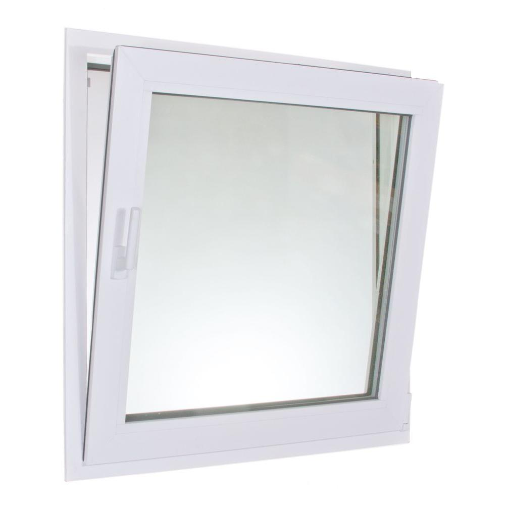 HR Windows 3040 Tilt & Turn Vinyl Windows, 36 in. x 48 in. Triple Glazed with two LowE surfaces, Argon Gas, and Screen-DISCONTINUED
