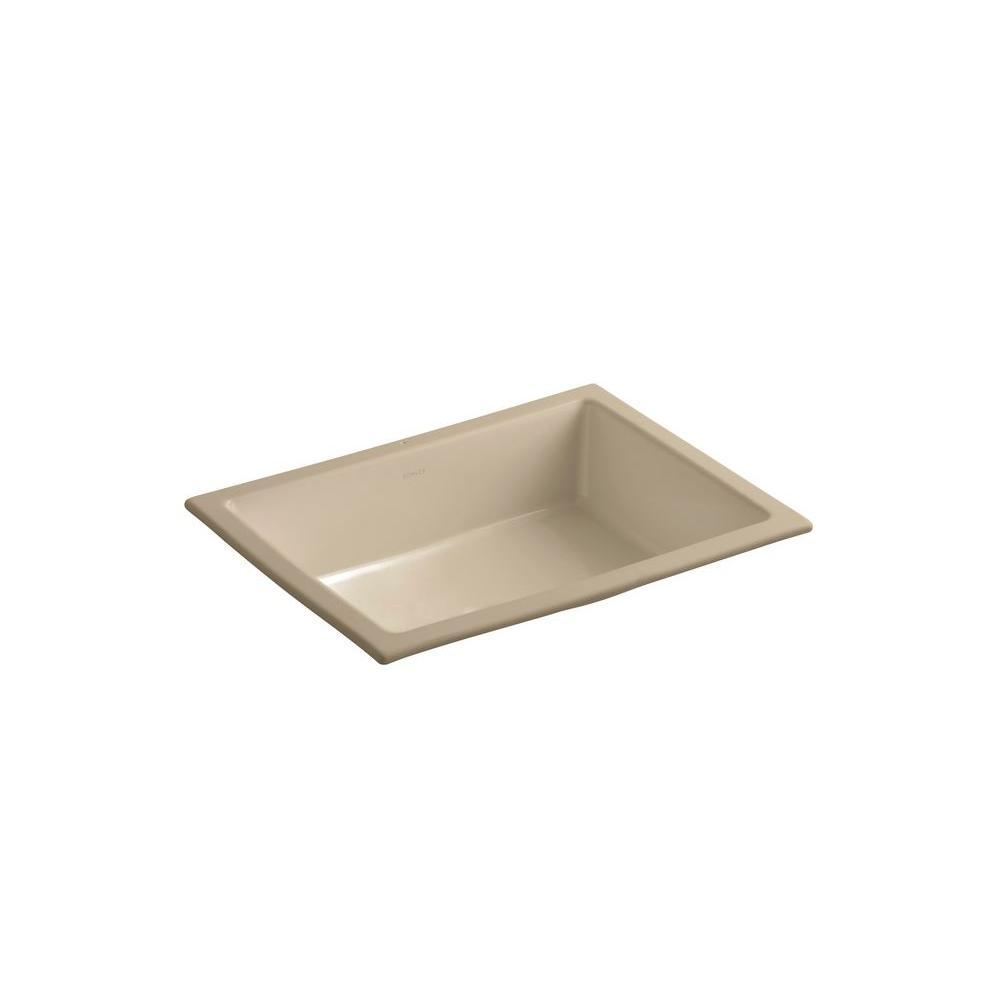Kohler Verticyl Vitreous China Undermount Bathroom Sink w...