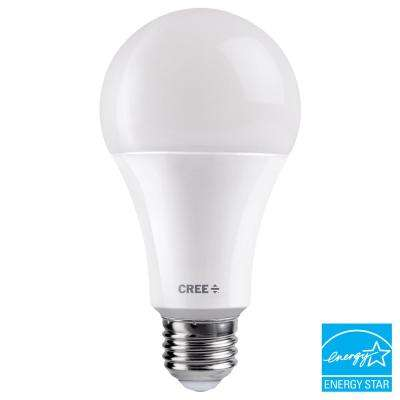 40W/60W/100W Equivalent Soft White (2700K) A21 3-Way Exceptional Light Quality LED Light Bulb
