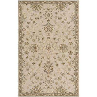 Zari Beige 12 ft. x 15 ft. Indoor Area Rug