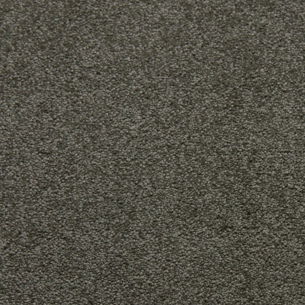 Sweet Dreams II - Color Platinum Saxony 12 ft. Carpet
