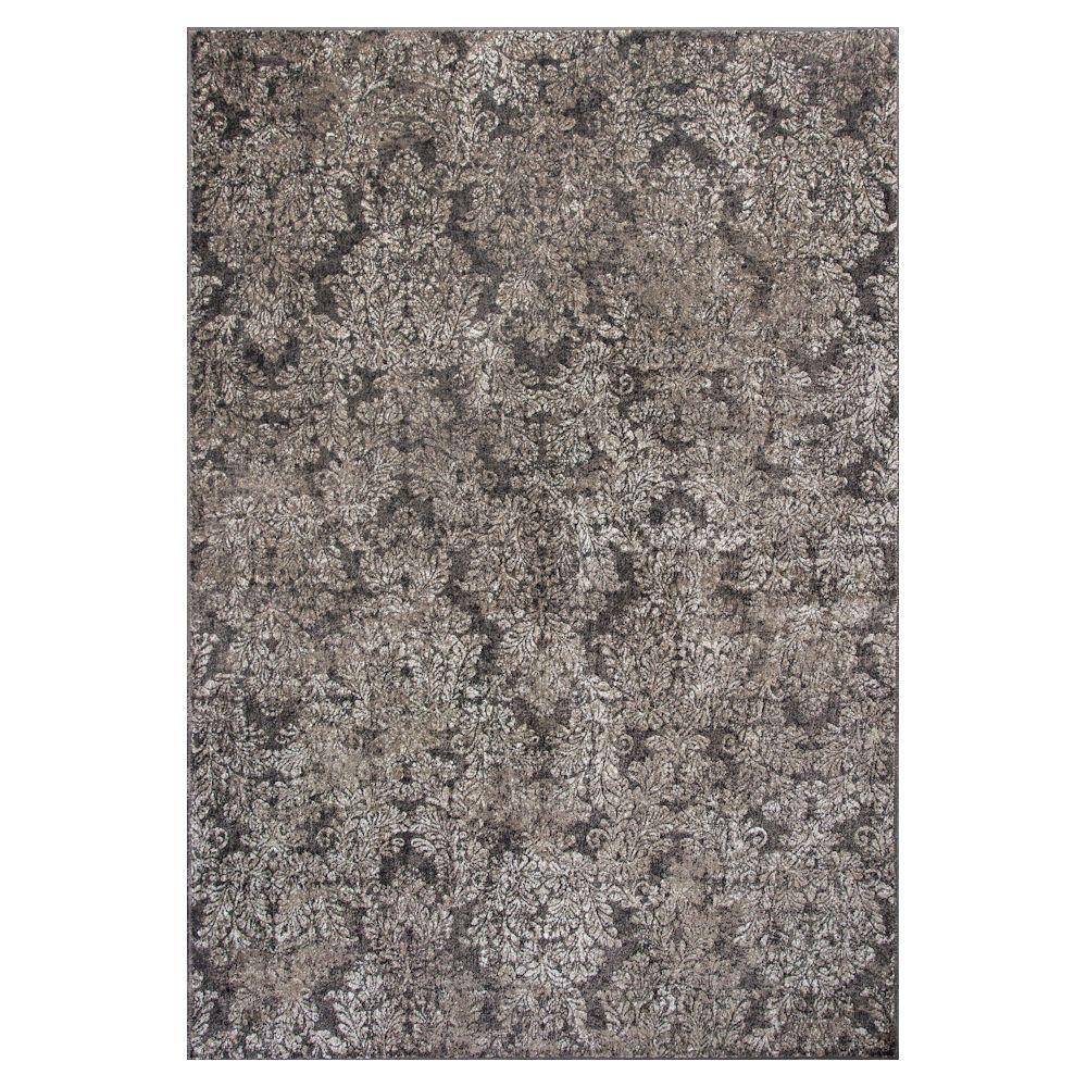 Avenue Taupe 7 ft. 10 in. x 11 ft. 2 in.