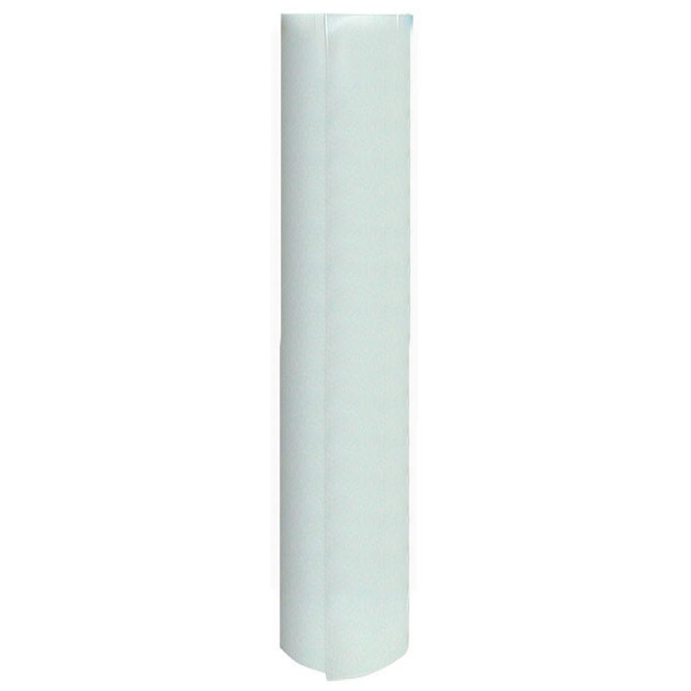12 in. x 120 in. White Vinyl Shelf Liner