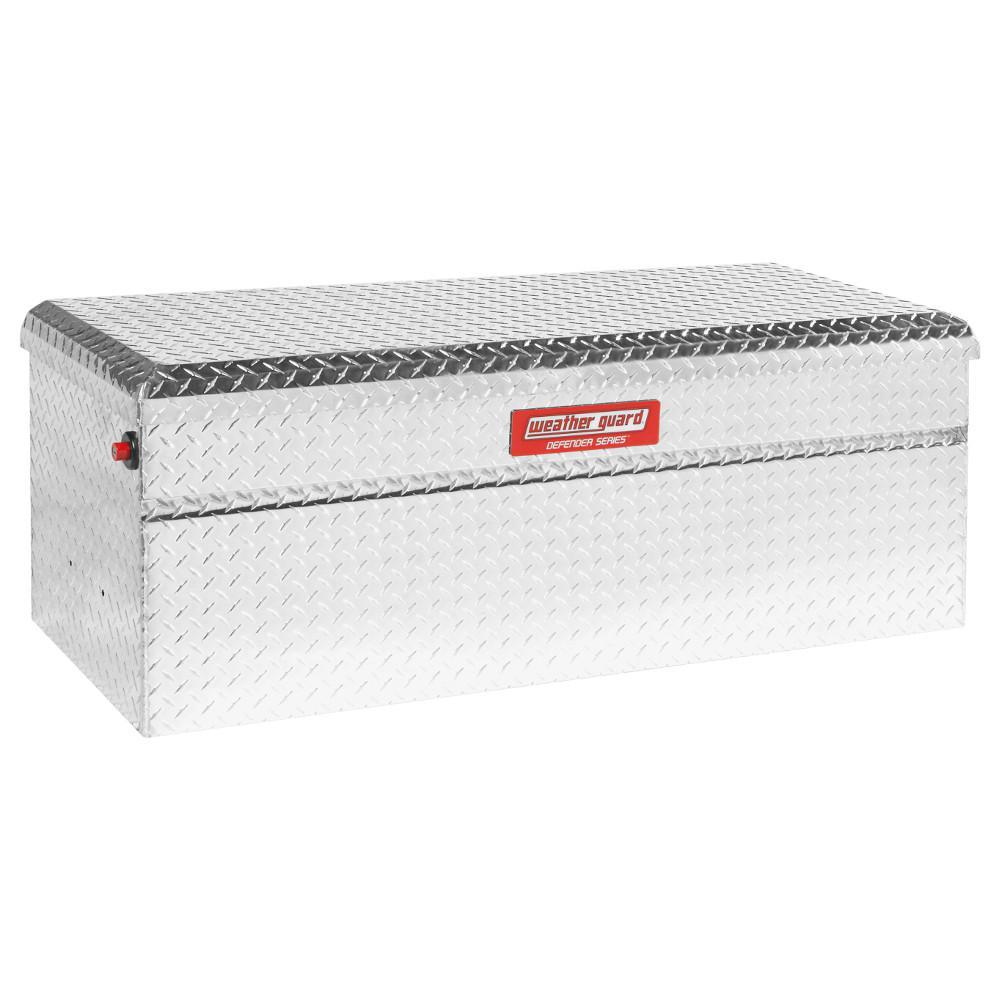 50.25 Diamond Plate Aluminum Full Size Chest Truck Tool Box