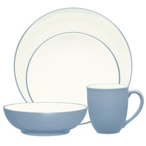 Colorwave 4-Piece Ice Coupe Dinnerware Set
