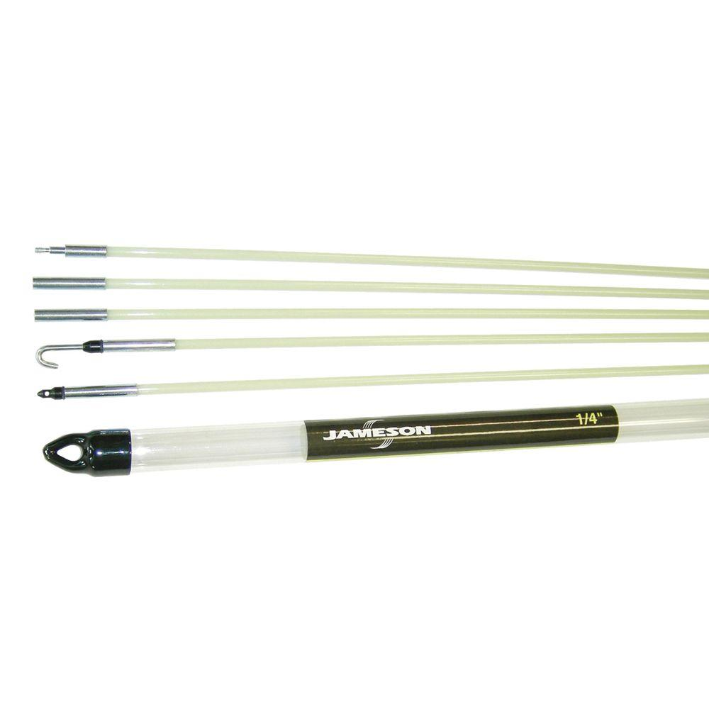 Jameson 24 ft. Glow Fish Rod Kit