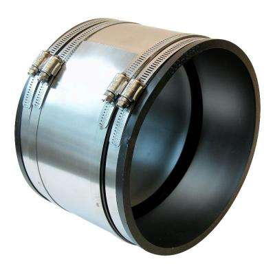 6 in. Flexible PVC Shear Ring Coupling