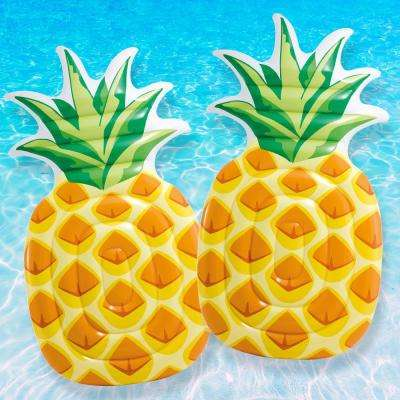 Pineapple Mattress Pool Float (2-Pack)