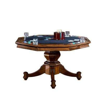 Nassau Game Table in Brown