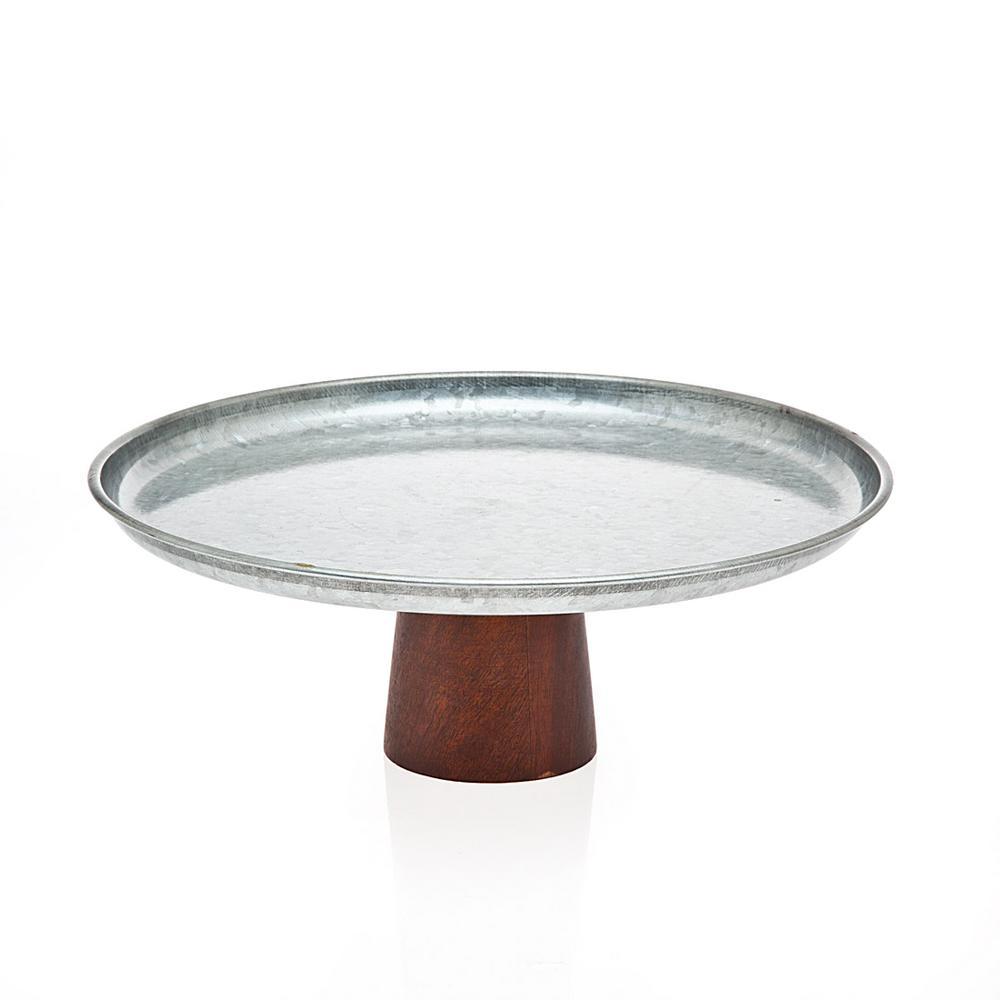 Cake Plate Wood Base