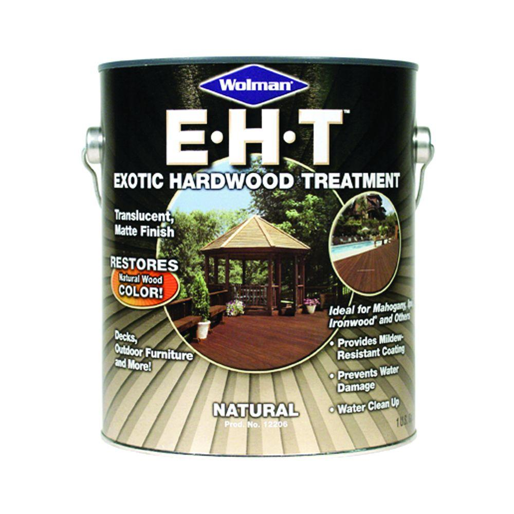EHT Exotic Hardwood Treatment 1-gal. Natural Hardwood Protector and Restorer-DISCONTINUED
