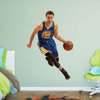 75 in. H x 51 in. W Stephen Curry Drive Wall Mural