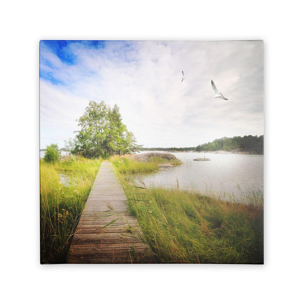 Trademark Fine Art 14 in. x 14 in. Disorganized Canvas Art