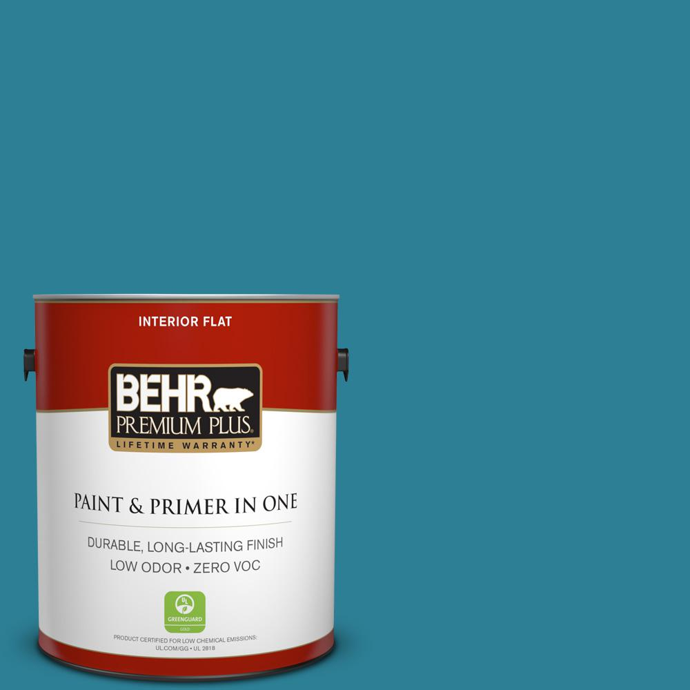 1 gal. #540D-6 Wipeout Flat Zero VOC Interior Paint and Primer