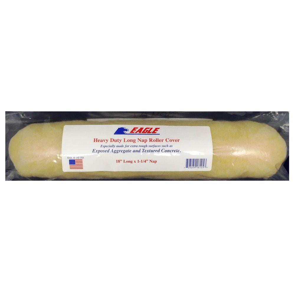 Eagle Long Nap 18 In Roller Cover For Roughly Textured Exterior Concrete Erc18 The Home Depot