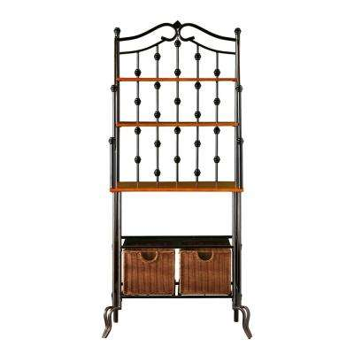 Saint Pierre Black Baker's Rack