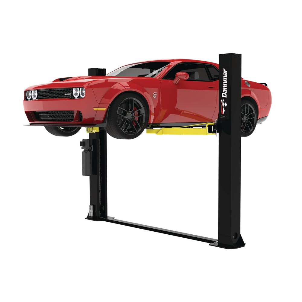 Dannmar 8,000 lbs. 2-Post Floor Plate Lift