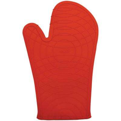 12 in. Silicone Oven Mitt