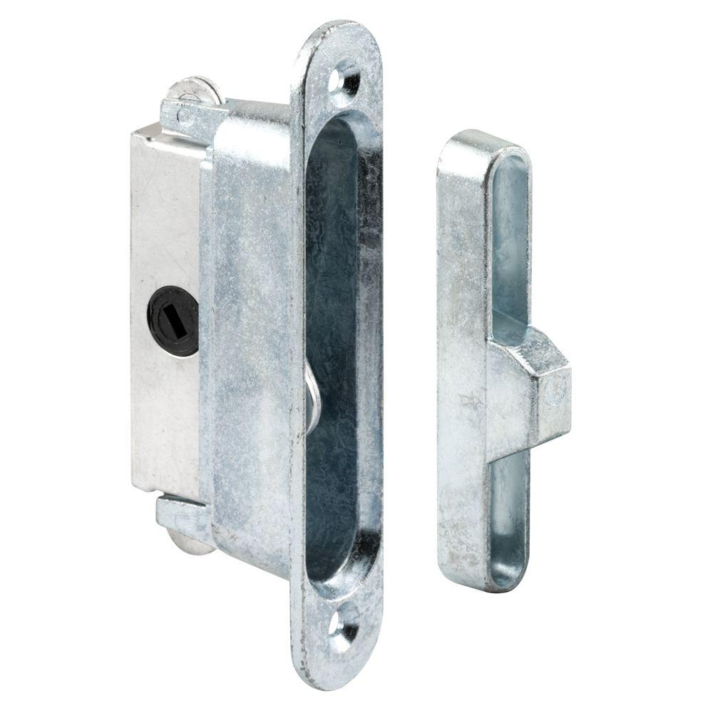 Deep Reach Sliding Door Lock and Keeper for Wood or Aluminum