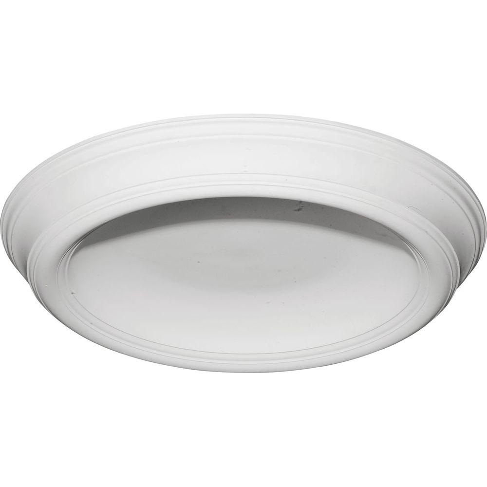 Ekena Millwork 37-3/8 in. Traditional Smooth Surface Mount Ceiling Dome