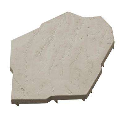 Natural Style 16 in. x 20 in. Resin Natural Sand Pattern Paver Stones (8-Pack)