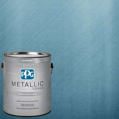 1 gal. MTL114 Aqua Essence Metallic Interior Specialty Finish Paint