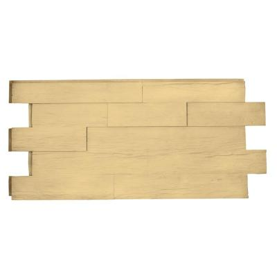 Superior Time Weathered Faux Rustic Panel 1-1/4 in. x 48 in. x 23 in. Unfinished Polyurethane Interlocking Panel