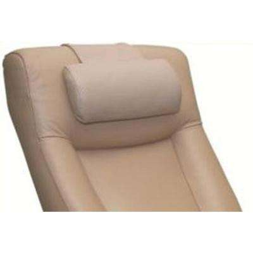 Oslo Collection Cobblestone (Tan) Top Grain Leather Cervical Pillow