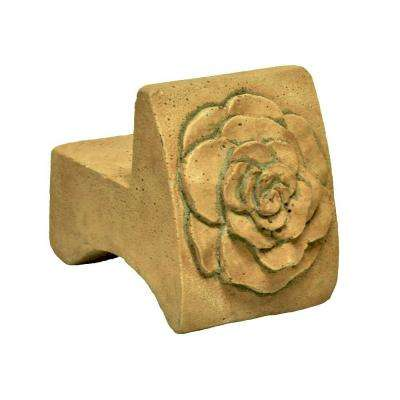 3.5 in. x 2.5 in. Pot Feet in Aged Sandstone Finish (3-Set)