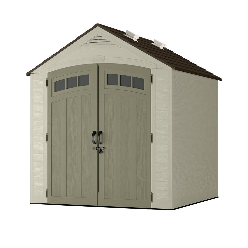 Vista 7 ft. x 7 ft. Resin Storage Shed