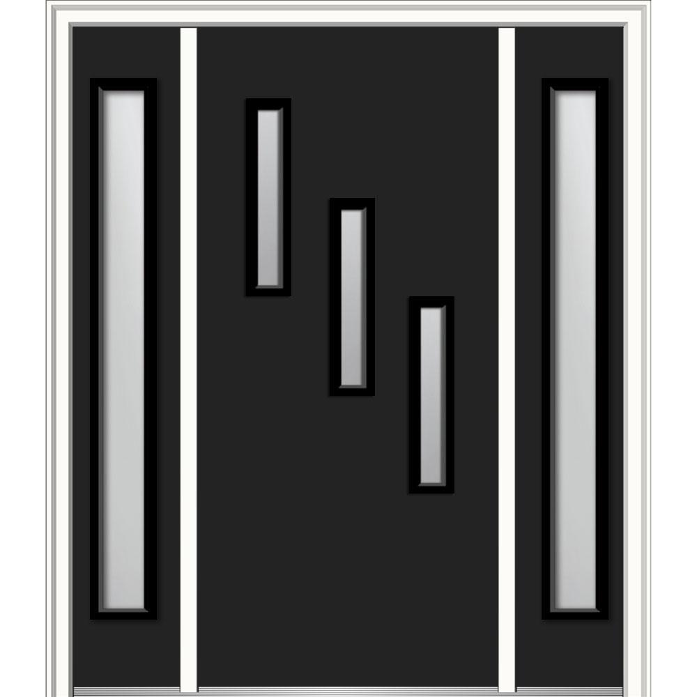 black front doorModern  Black  Front Doors  Exterior Doors  The Home Depot